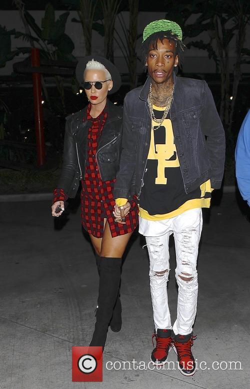 Wiz Khalifa and Amber Rose 8