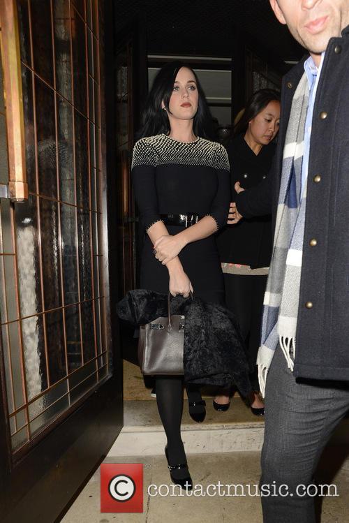 Celebrities leaving 34 Restaurant