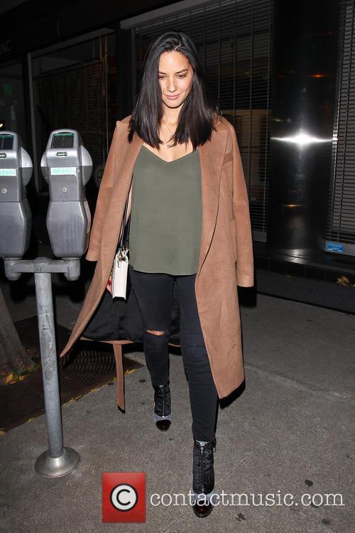 Olivia Munn out for dinner at Craig's