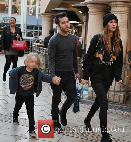 Pete Wentz and Bronx Wentz 7
