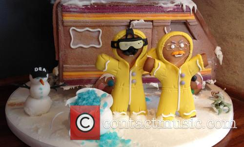 Breaking Bad Gingerbread House 1