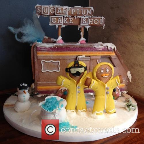 Breaking Bad Gingerbread House 10