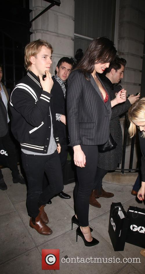 Tom Odell and Daisy Lowe 4