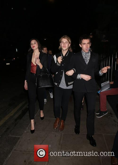 Tom Odell, Miles Kane and Daisy Lowe 5