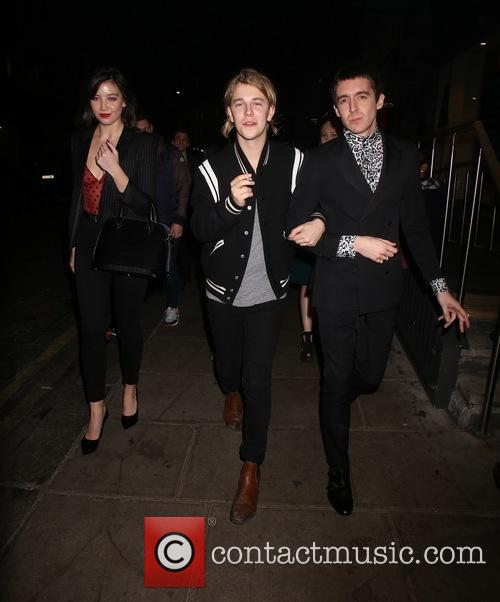 Tom Odell, Miles Kane and Daisy Lowe 8