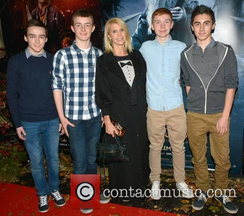 Joe Haughey, Jake Mccamish, Yvonne Keating, Jack Keating and Jack Mccarthy 9