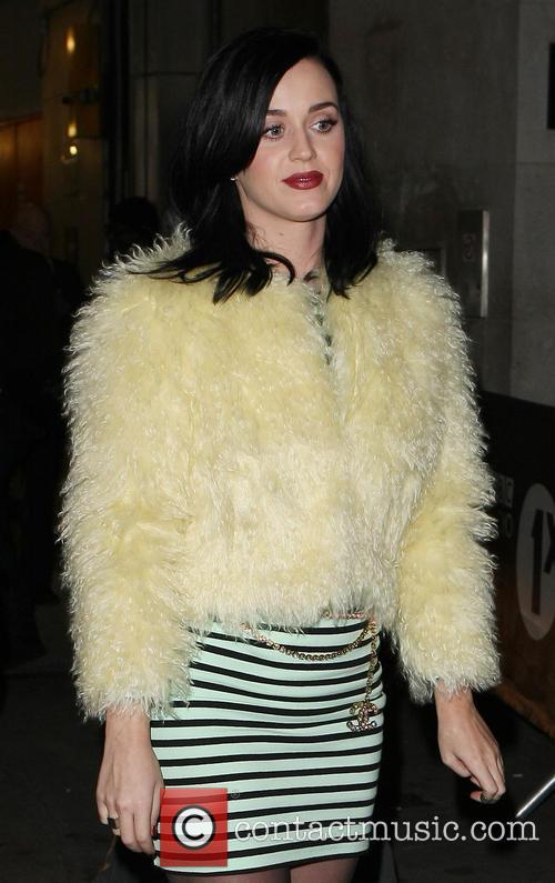 Katy Perry leaving BBC Radio1