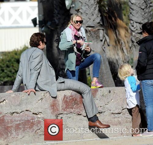 Naomi Watts, Liev Schreiber and Samuel 3