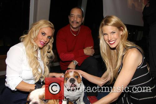 Ice-t, Coco Austin, Beth Stern, Spartacus and Maximus 9