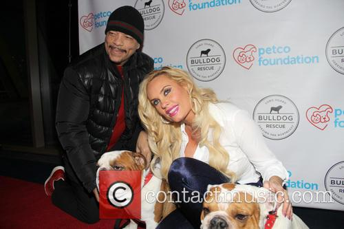 Ice-t, Coco Austin, Spartacus and Maximus 2