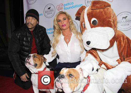 Ice-t, Coco Austin, Spartacus and Maximus 10