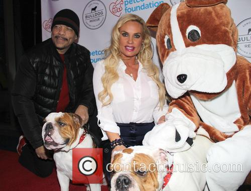 Ice-t, Coco Austin, Spartacus and Maximus 11