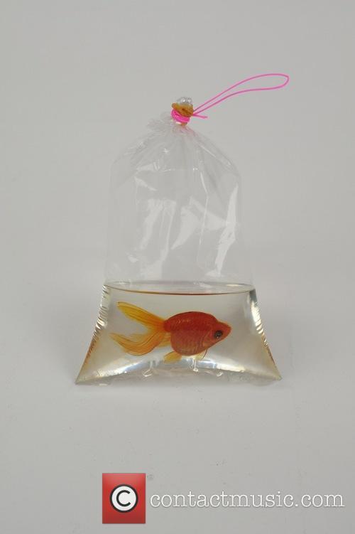 New Layered Resin Goldfish Paintings by Riusuke Fukahori