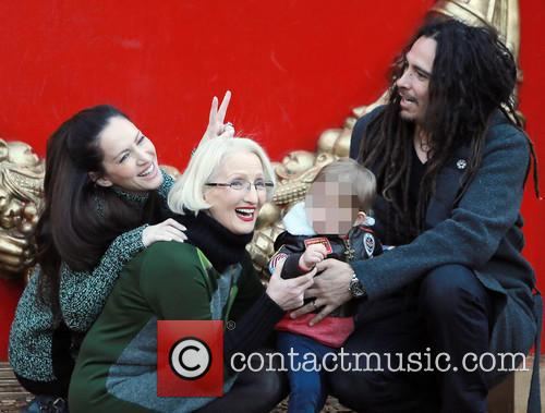 James Shaffer takes his family to see the...