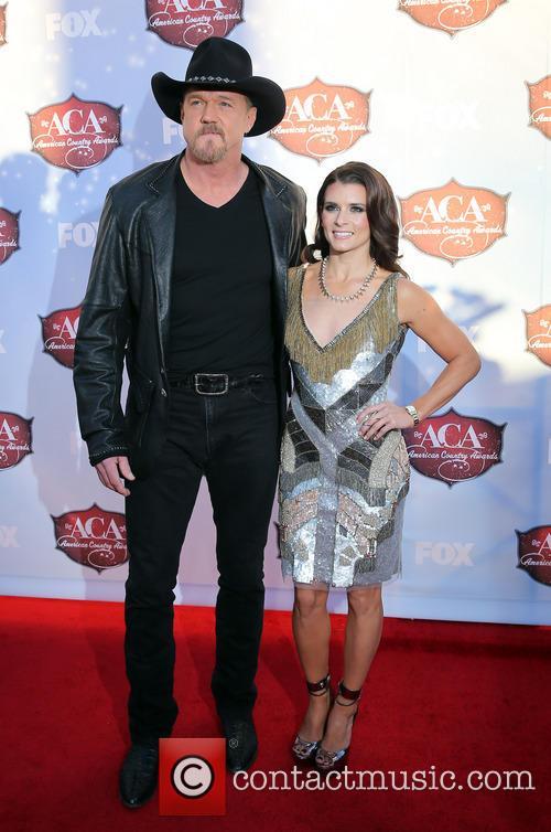 Trace Adkins and Danica Patrick 5