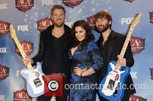 Charles Kelley, Dave Haywood and Hillary Scott 3