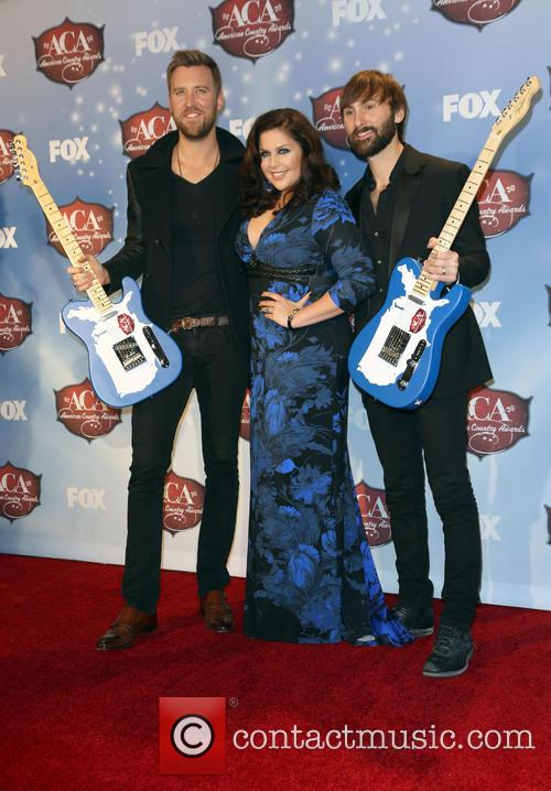 Charles Kelley, Dave Haywood and Hillary Scott 4