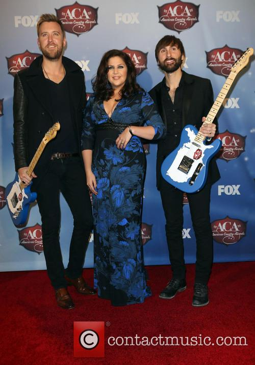 Charles Kelley, Dave Haywood and Hillary Scott 5