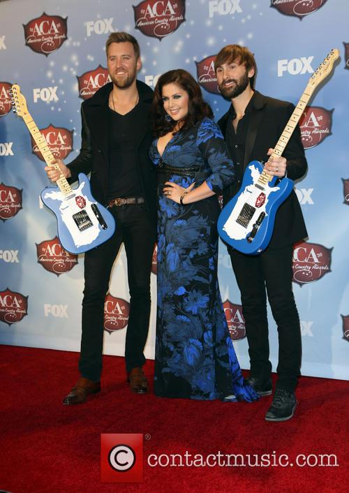 Charles Kelley, Dave Haywood and Hillary Scott 6