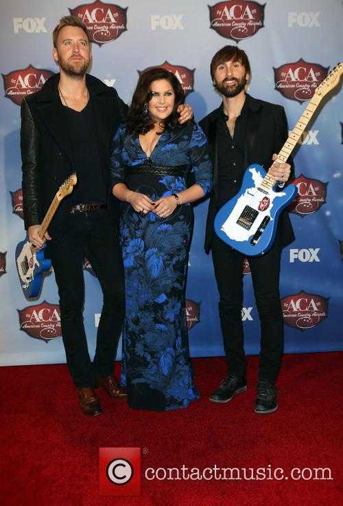 Charles Kelley, Dave Haywood and Hillary Scott 7