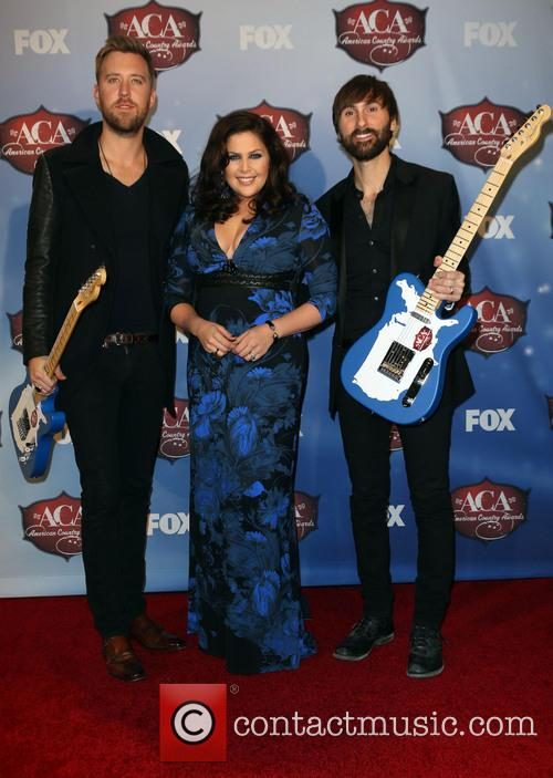 Charles Kelley, Dave Haywood and Hillary Scott 9