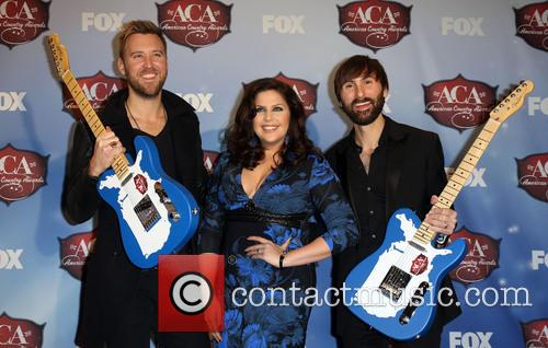 Charles Kelley, Dave Haywood and Hillary Scott 1
