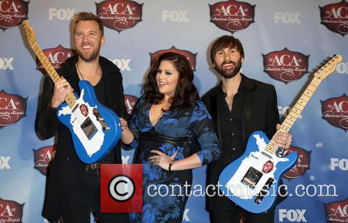 Charles Kelley, Dave Haywood and Hillary Scott 10