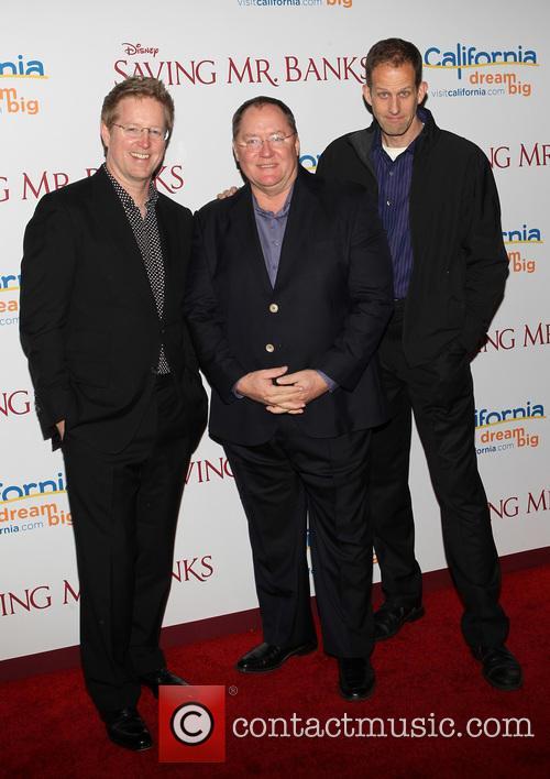 Andrew Stanton, John Lasseter and Pete Docter 1
