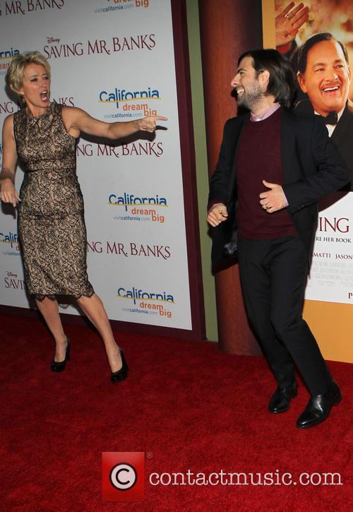 Emma Thompson and Jason Schwartzman 2
