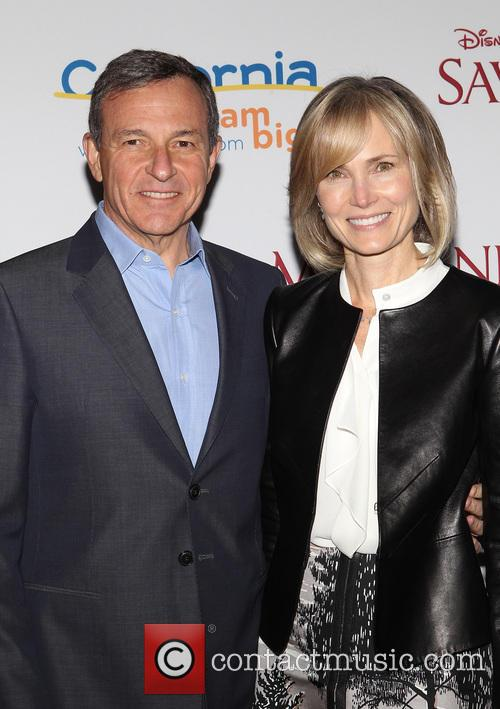 Bob Iger and Willow Bay 1