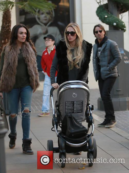 Tamara Ecclestone, Lavinia Stunt and Petra Ecclestone