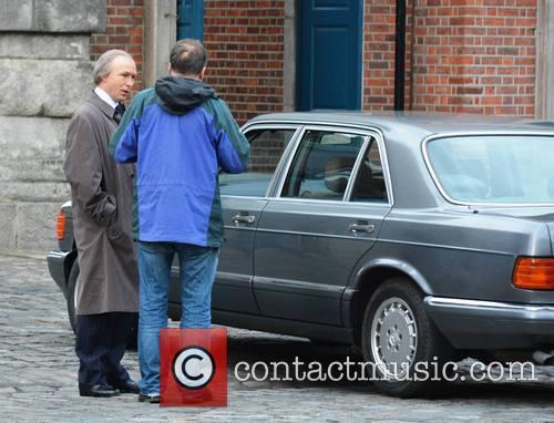 'Citizen Charlie' being filmed at Dublin Castle