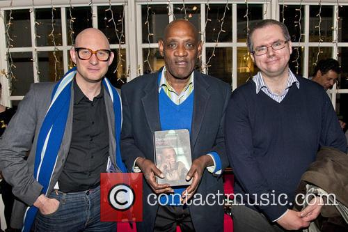 British broadcaster Darcus Howe attends the book launch...