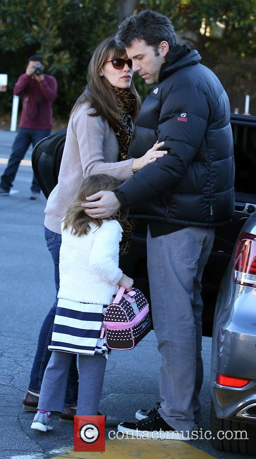 Jennifer Garner, Ben Affleck and Seraphina Affleck 6
