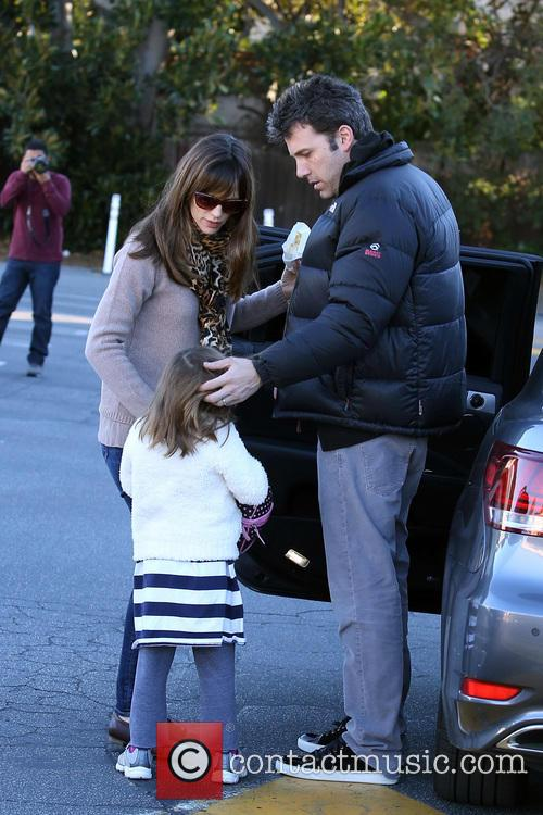 Jennifer Garner, Ben Affleck and Seraphina Affleck 1