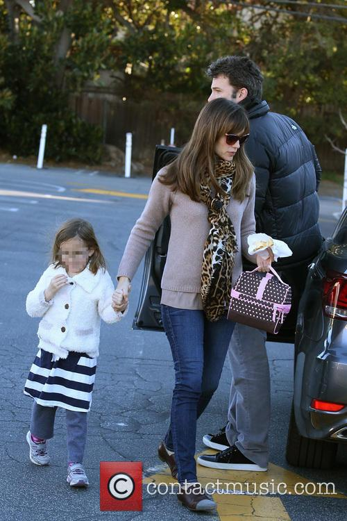 Jennifer Garner, Ben Affleck and Seraphina Affleck 7