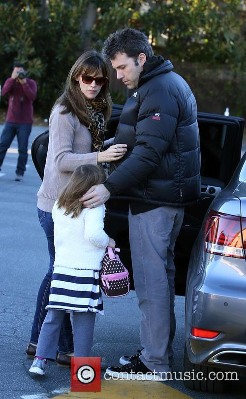 Jennifer Garner, Ben Affleck and Seraphina Affleck 8