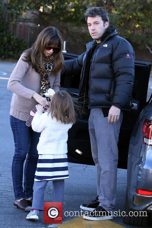 Jennifer Garner, Ben Affleck and Seraphina Affleck 9