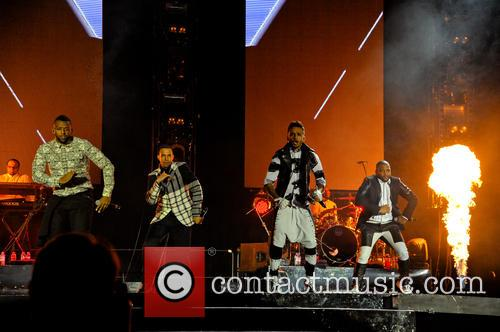 Jls, Marvin Humes, Aston Merrygold, Oritsé Williams and Jb Gill 4