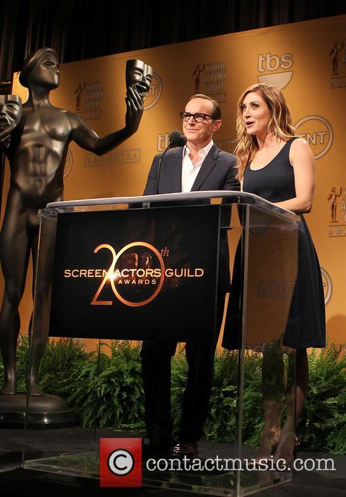 Clark Gregg and Sasha Alexander 8