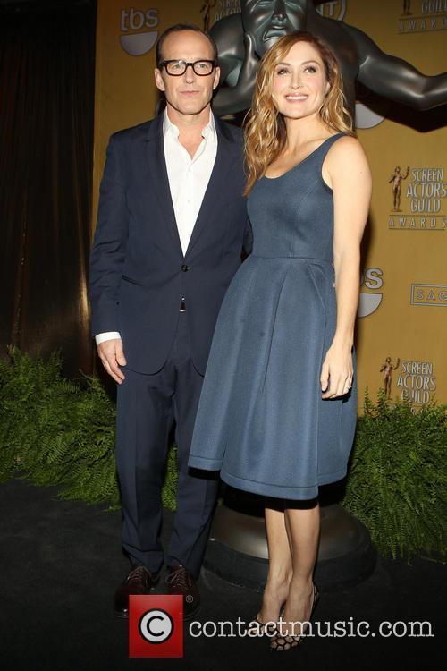 Clark Gregg and Sasha Alexander 17