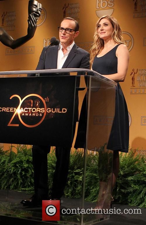 Clark Gregg and Sasha Alexander 20