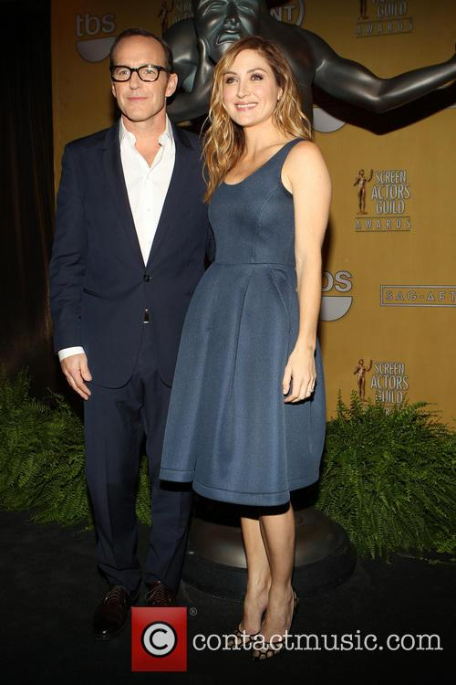 Clark Gregg, Sasha Alexander, Pacific Design Center, Screen Actors Guild