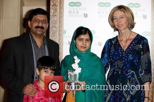 Lamb, Malala Yousafzai and Ziauddin Yousafzai 2