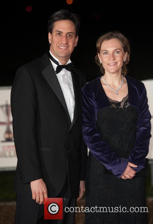 Ed Milliband and Justine Thornton 3