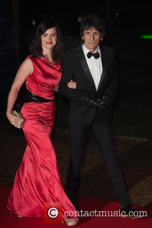Sally Humphreys and Ronnie Wood 2