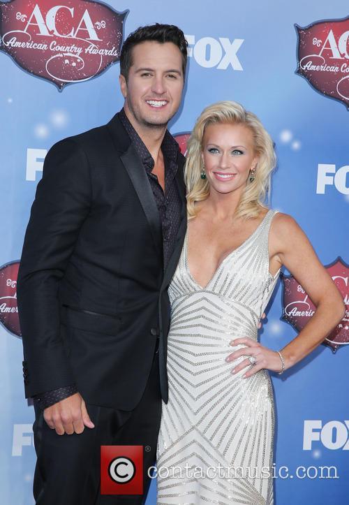 Luke Bryan and Caroline Bryan 2