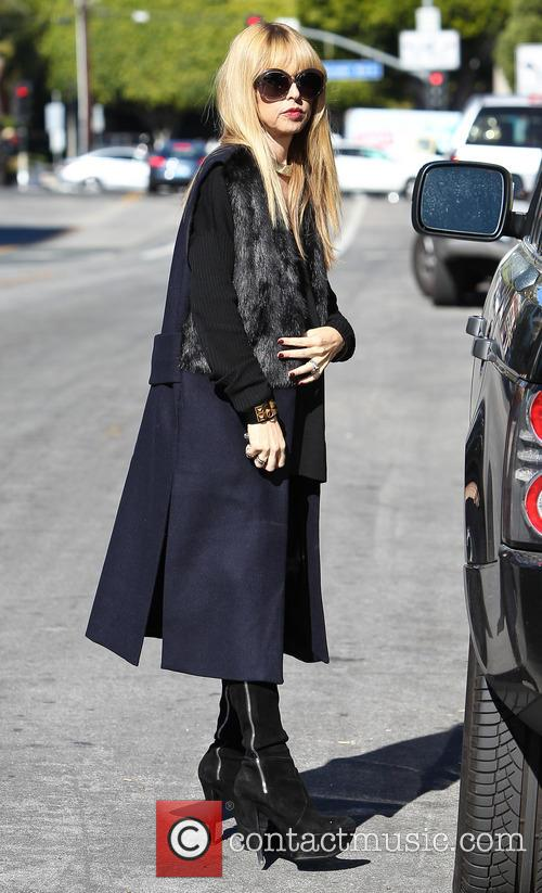 Rachel Zoe out in Beverly Hills