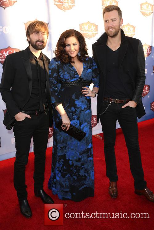 Charles Kelley, Dave Haywood and Hillary Scott 2