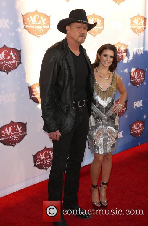Trace Adkins and Danica Patrick 4